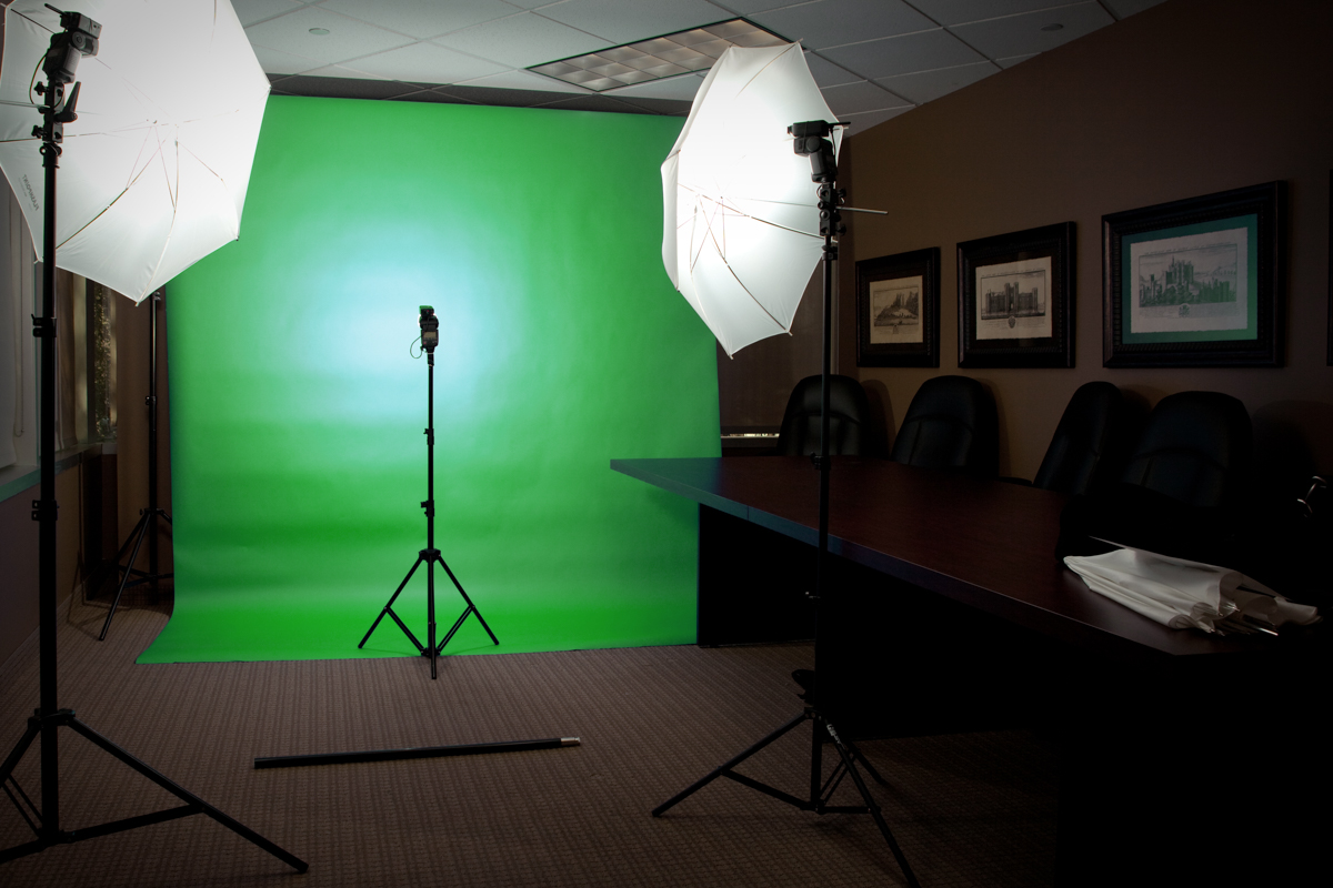 Dallas green screen photography and video for Mobile studio