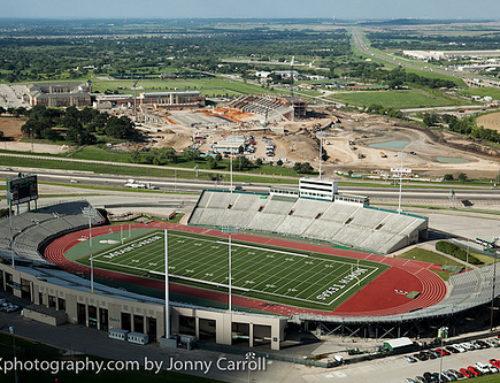 UNT Aerials of the New Stadium – University of North Texas