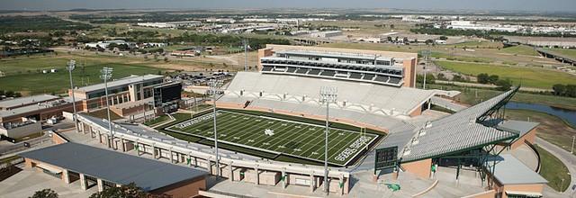 UNT Apogee stadium aerials   Dallas Editorial Photography