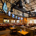 Dallas architectural photographer captures Chilis interior