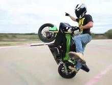 Josh Holsan Stunt Biker