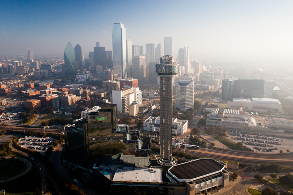 Image result for dallas aerial
