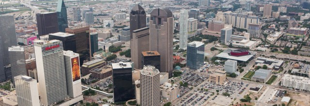 Downtown Dallas Aerial Photography