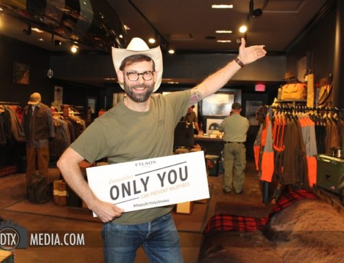 Filson Photo Station – Dallas Step and Repeat Photographer